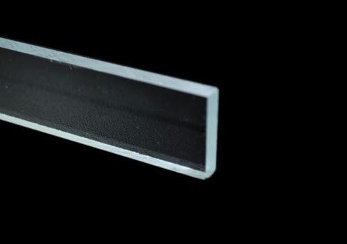 Beschwerungsstäbe   Beschwerungsstab für Gardinen aus Plexiglas