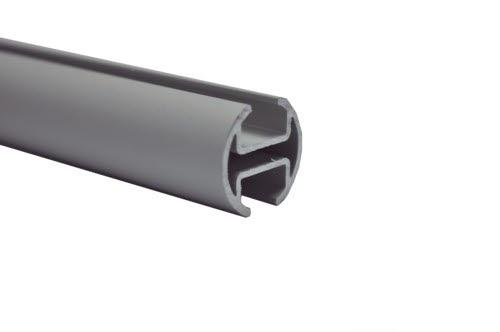 gardinenstangen aluminium matt